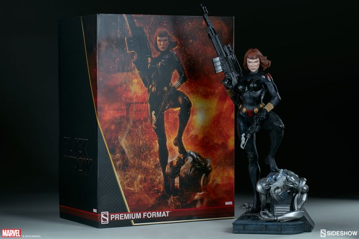 New Photos of the Black Widow Premium Format Figure are here!