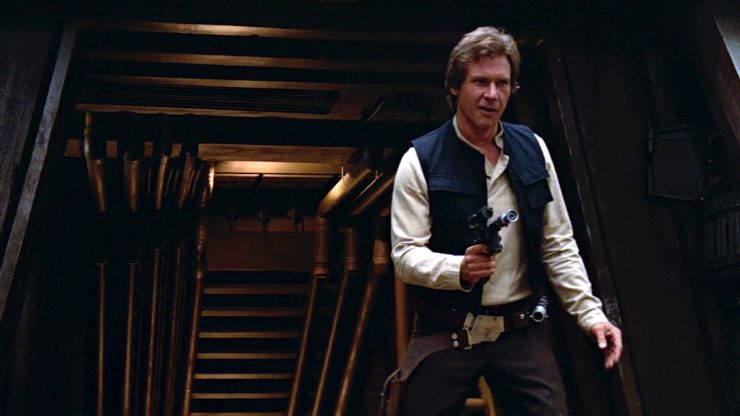 Han Solo Then & Now- Let Your Geek Sideshow