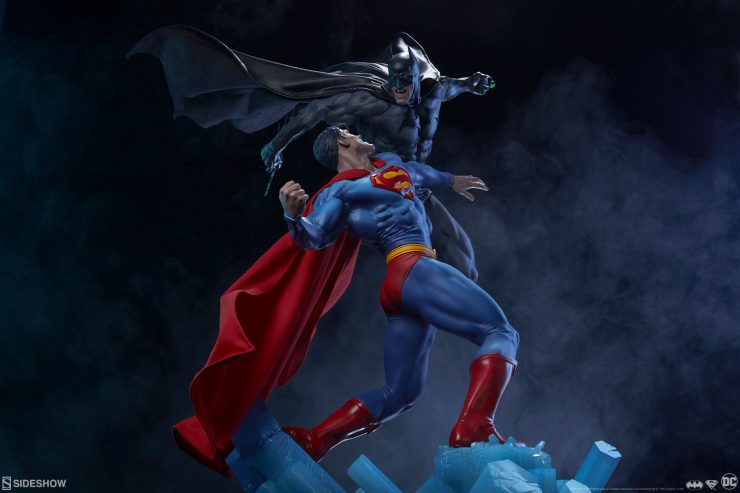 It's Gotham Against Krypton in the Batman vs Superman Diorama