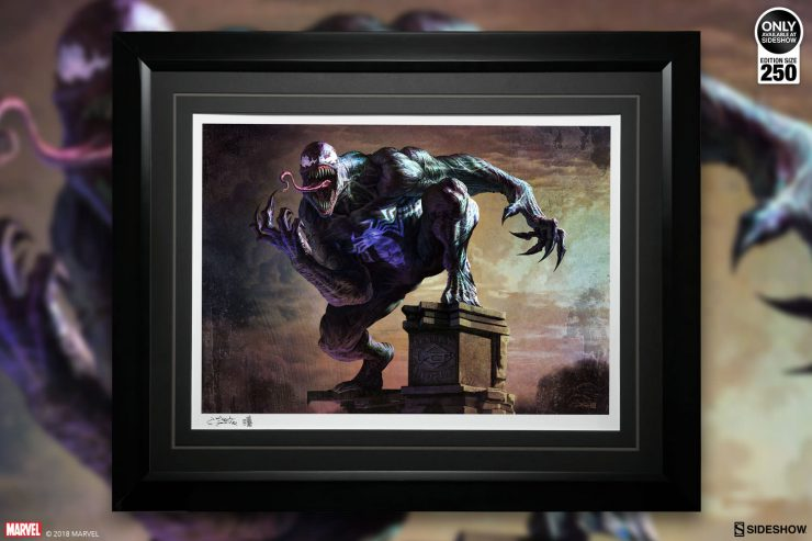 Host Your Own Symbiote with the Venom Fine Art Print