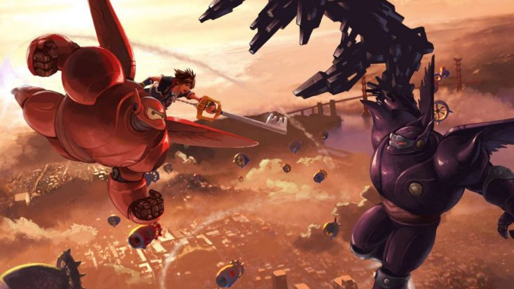Square Enix Releases Kingdom Hearts III Trailer with Big Hero 6
