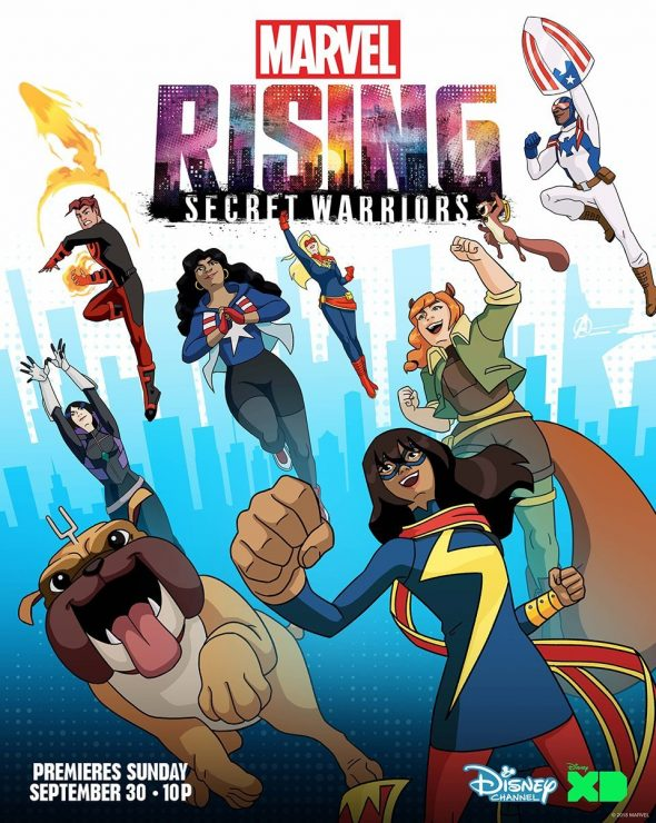 Marvel Debuts Marvel Rising: Secret Warriors Trailer