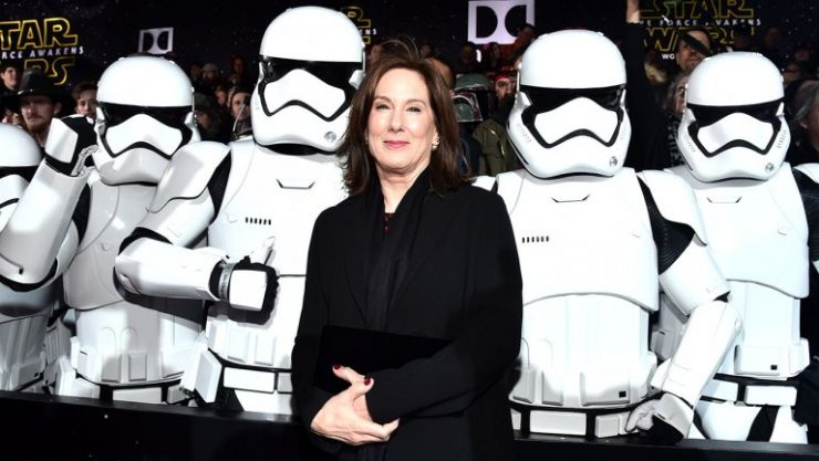Kathleen Kennedy Extends Contract at Lucasfilm to 2021
