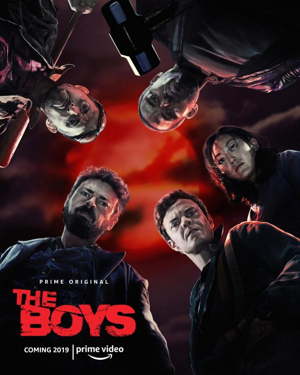 Amazon Debuts First Look at The Boys Series
