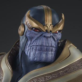 Exclusive Thanos on Throne