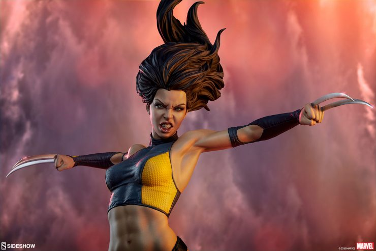 The X-23 Premium Format™Figure is Ready to Slice Through the Sentinels!