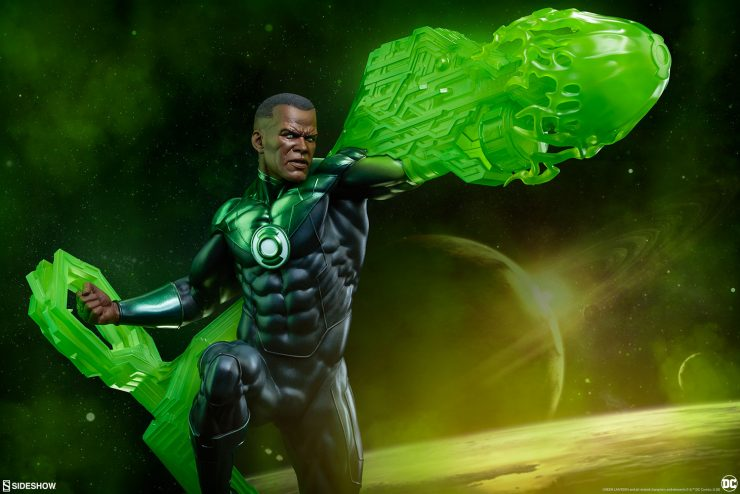 The John Stewart Premium Format™ Figure Brings Green Lantern's Light to Your DC Comics Collection
