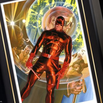 Daredevil: Man Without Fear Fine Art Lithograph by Alex Ross