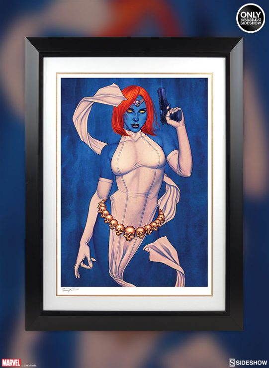 The Mystique Fine Art Print by Jenny Frison Will Transform Your Marvel Art Collection