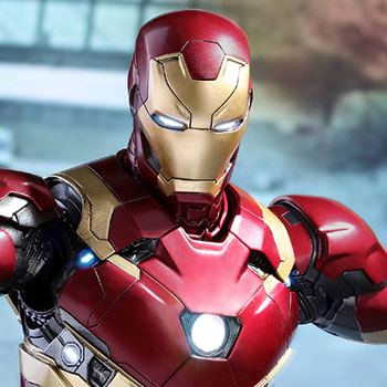 Hot Toys Iron Man Mark XLVI Diecast