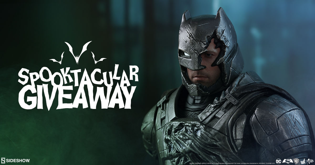 Armored Batman Figure Giveaway