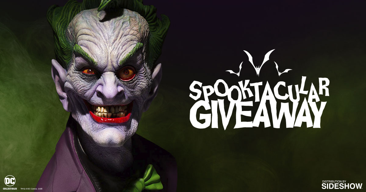 The Joker Bust Giveaway