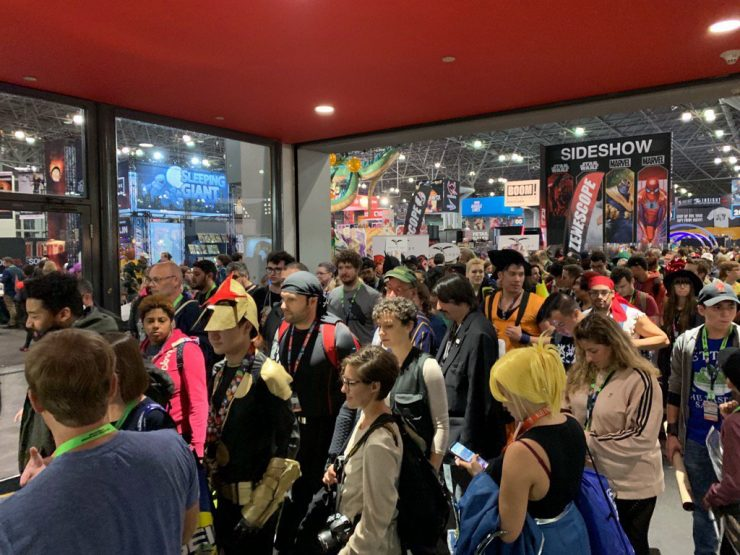New York Comic Con Then & Now- a Special Let Your Geek Sideshow Podcast!
