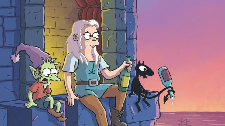 Netflix Renews Animated Original Disenchantment For 20 More Episodes