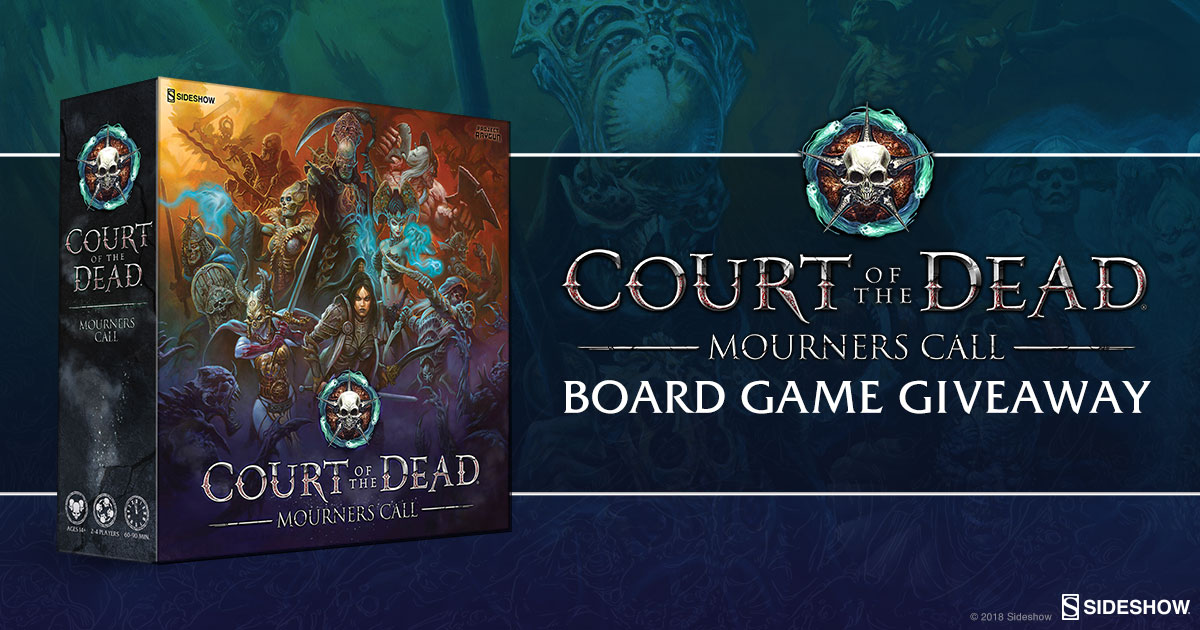 Court of the Dead Mourner's Call Board Game Giveaway