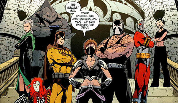 Secret Six Television Series Reportedly in Development at CBS