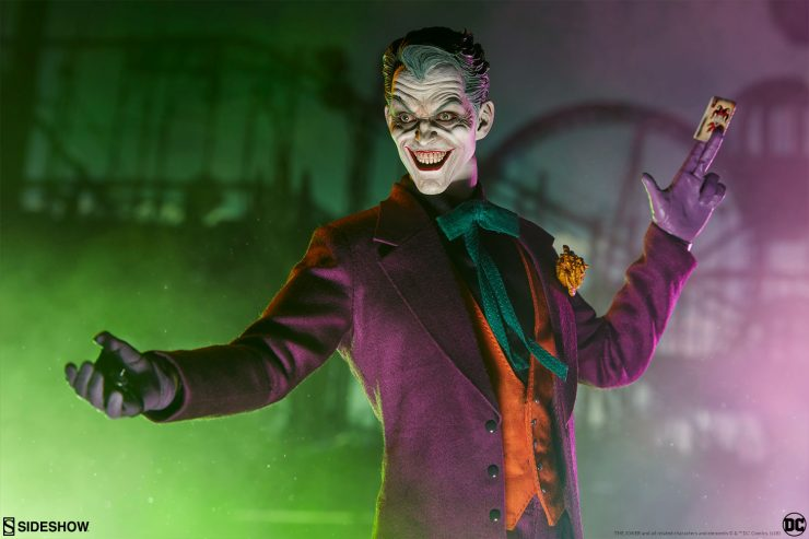The Joker Sixth Scale Figure Will Drive Your DC Collection Batty!