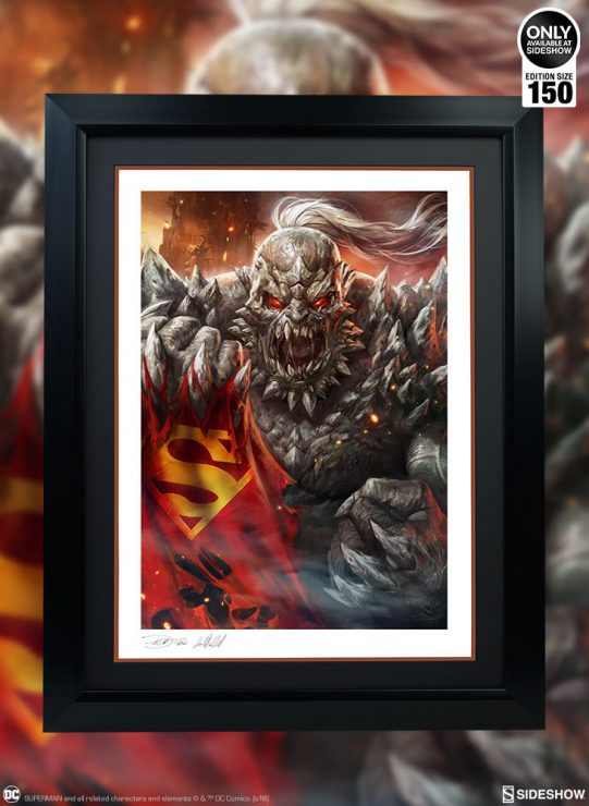 The Doomsday Fine Art Print Will Shake Your DC Collection To The Core