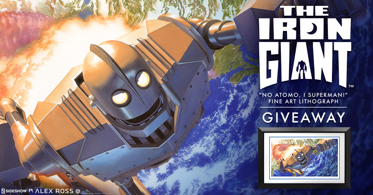 The Iron Giant Fine Art Lithograph Giveaway