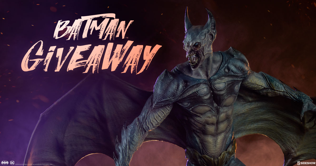 Sideshow Newsletter Batman Statue Giveaway