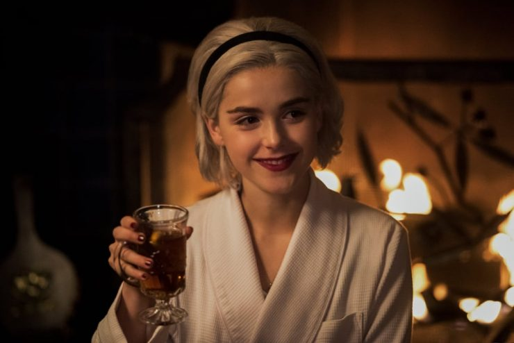 Coming to Netflix in December- The Chilling Adventures of Sabrina Winter Special