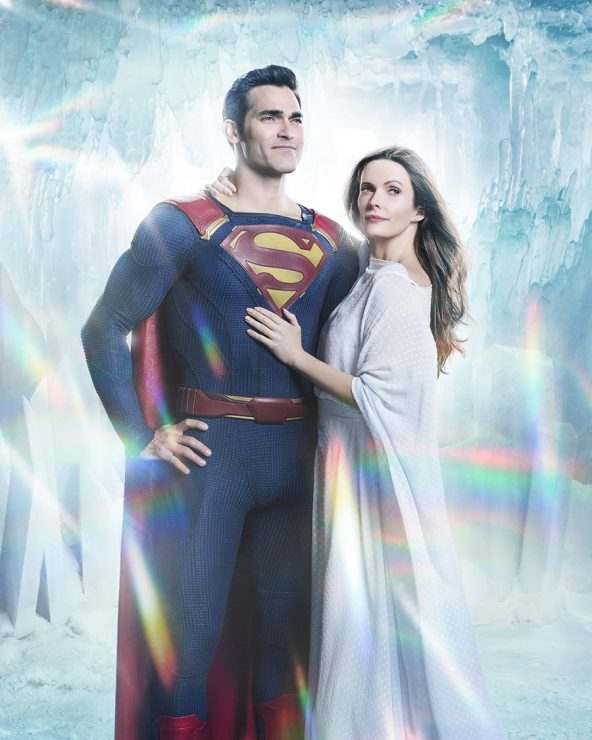 CW Releases First Image of Superman and Lois Lane in CW DC Crossover