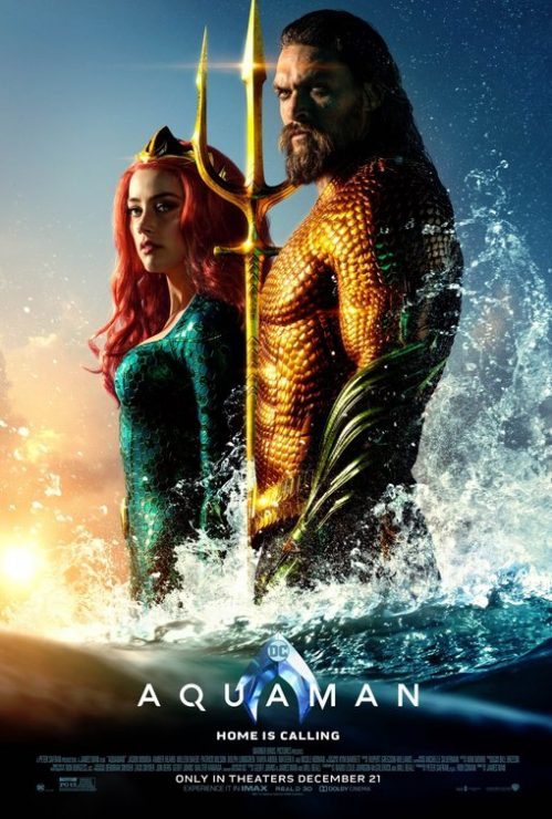 WB Pictures Releases Behind the Scenes Aquaman Video