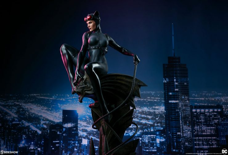 The Catwoman Premium Format™ Figure Will Steal the Spotlight in Your Collection