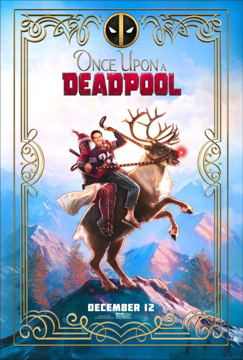 Once Upon a Deadpool Official Poster