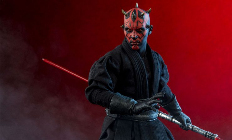 Darth Maul -Then & Now