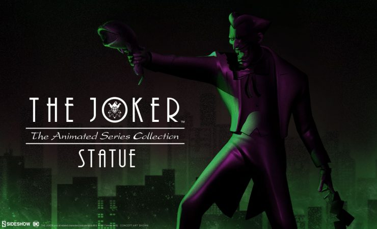 The Joker (Animated Series Collection) Statue