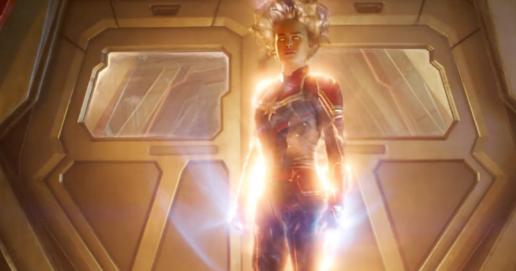 Captain Marvel Soars Higher in Second Official Trailer