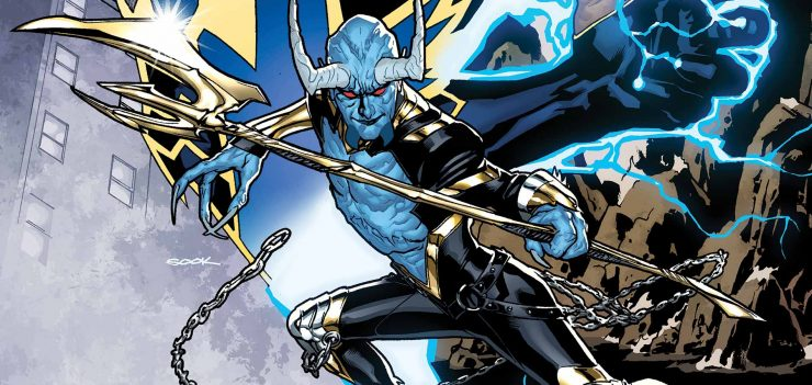 Ian Ziering Cast as Blue Devil for DC Universe Swamp Thing Series