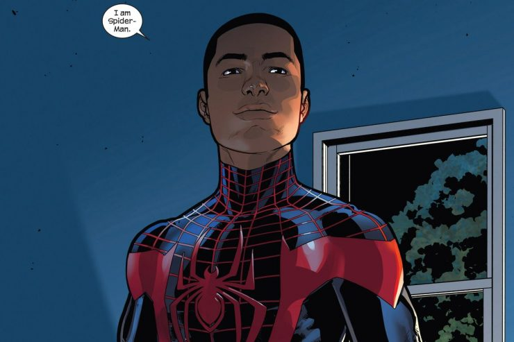 Miles Morales- Then & Now