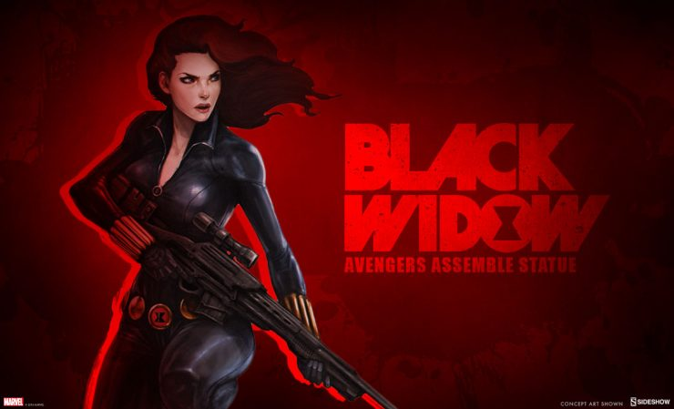 Black Widow Statue- Avengers Assemble