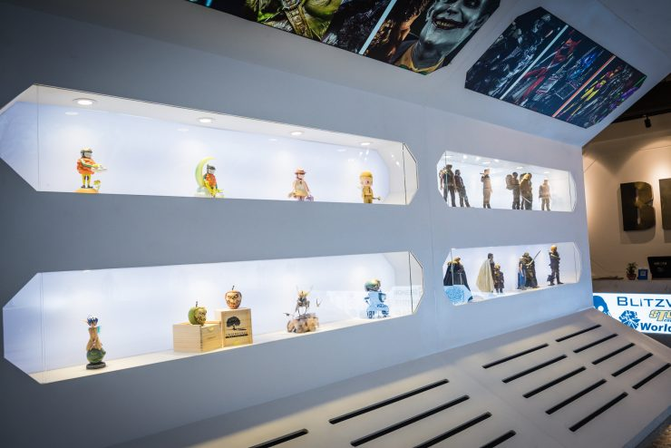 See the Incredible Collectibles Featured at the BBICN Store Grand Opening- Shanghai, China