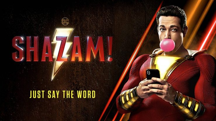 Zach Levi Teases Shazam! Poster and Trailer Incoming