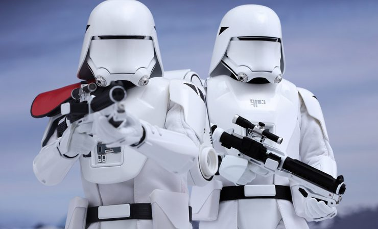First Order Snowtrooper Sixth Scale Figure Set