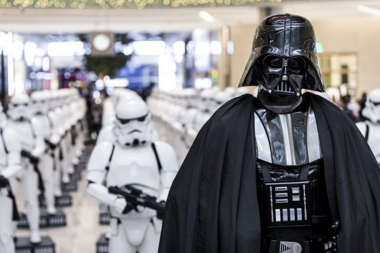 Face the Galactic Empire in the Dubai Mall's Epic Star Wars Life-Size Figure Installation