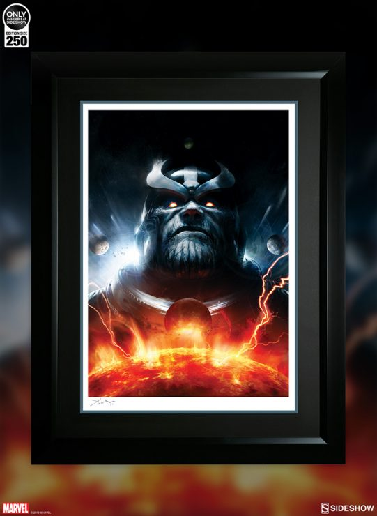 Witness the Mad Titan's Might in the Thanos Imperative: Ignition Fine Art Print!