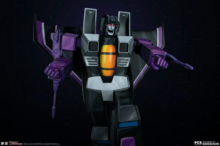 The Skywarp G1 Museum Scale Statue from PCS Joins the Seekers as the Latest Transformers Collectible!