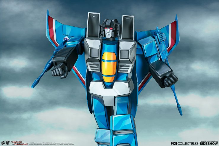The Thundercracker G1 Museum Scale Statue by PCS is Ready to Transform Your Collection!