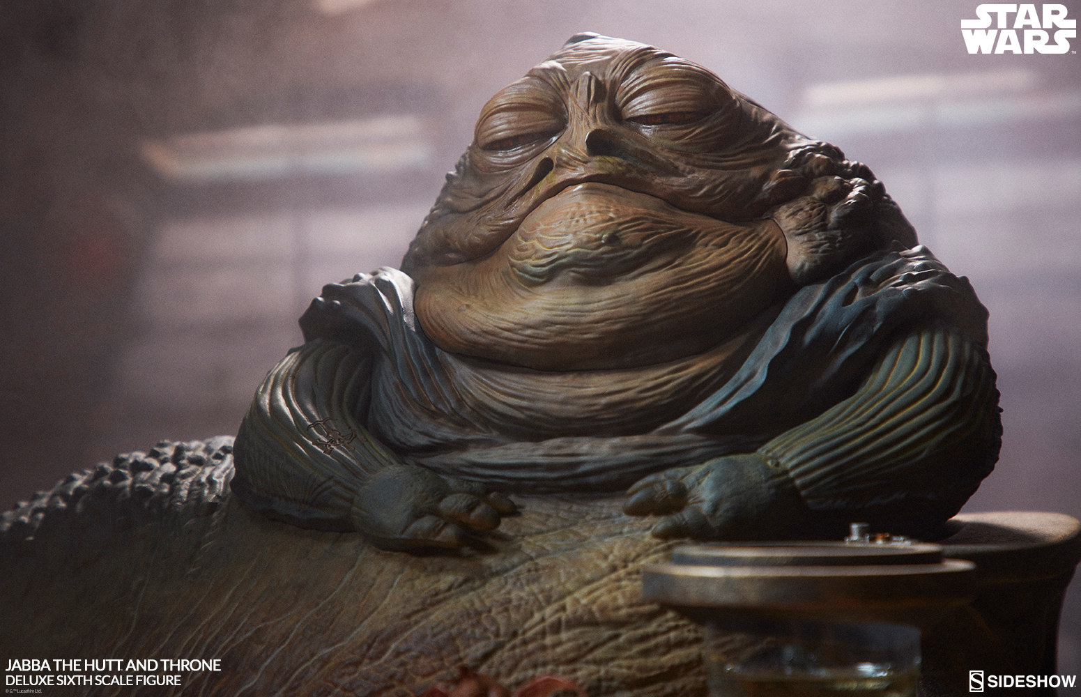 Behold the Illustrious Jabba the Hutt™ and Throne Deluxe ... Jabba The Hutt