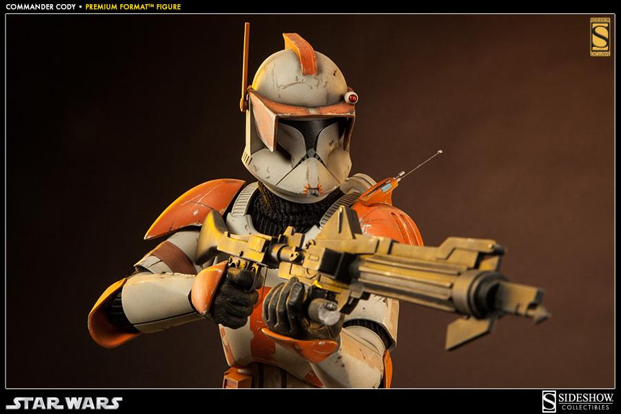 Exclusive Commander Cody Premium Format Figure