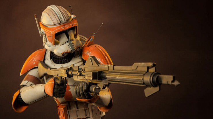 Clone Commander Cody joins the ranks of Sideshow's Star Wars Premium Format Figure collection