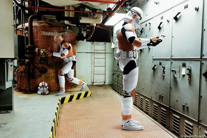 Bomb Squad Clone Trooper Figures