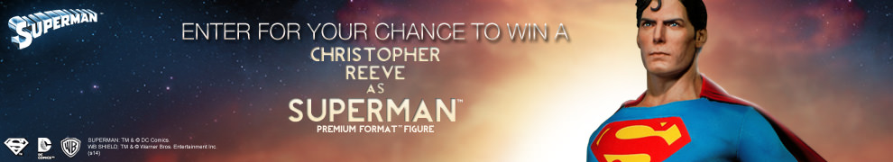 Superman – Christopher Reeve Figure Giveaway!