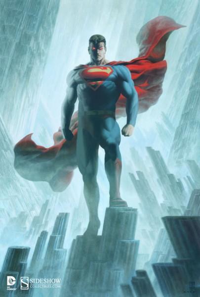 Superman Key Art by Kris Anka