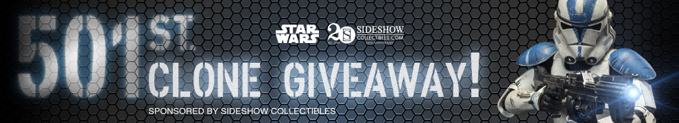 501st Clone Trooper Giveaway