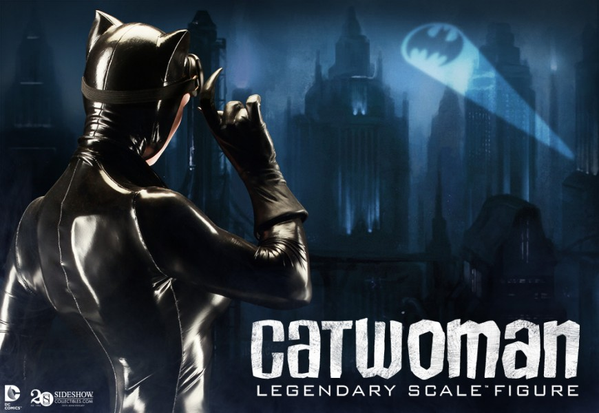 Catwoman Legendary Scale Figure Preview